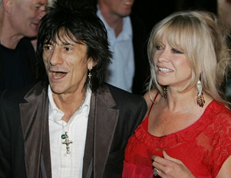 Ron Wood And Wife Jo