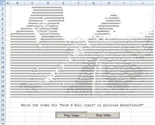AC/DC Rocks Microsoft Excel