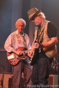 Robby Krieger and Brad Whitford