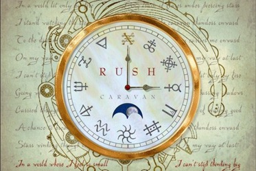 Rush Clockwork Angels Steampunk Clock
