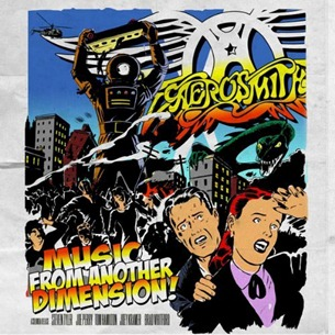 Aerosmith Music From Another Dimension Album Cover