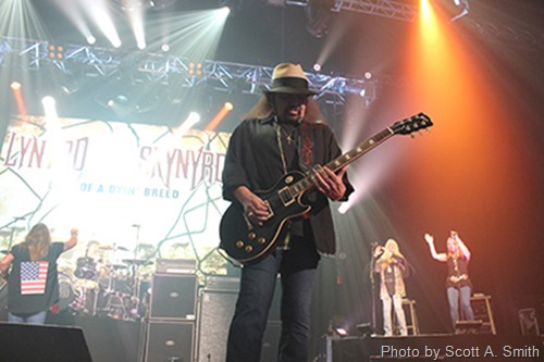 Lynyrd Skynyrd in Tulsa by Scott A. Smith