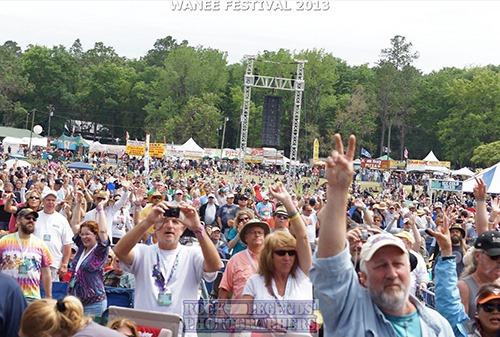 Wanee Festival 2013 Crowd