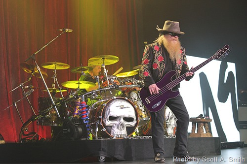 ZZ Top Live in Tulsa